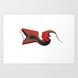 crowish Art Print