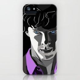 Sherlock Holmes Portrait iPhone Case