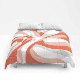 Coral Wave Comforters