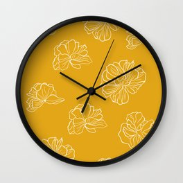 Blooming flower #1.2 Wall Clock