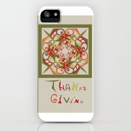 Thanksgiving - Fall Colors iPhone Case