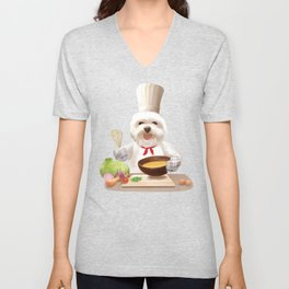 Little Chef Unisex V-Neck