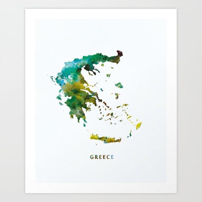 Greece Kunstdrucke