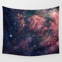 Nebula and Stars Wall Tapestry