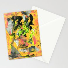 THRASHED! yellow Stationery Cards