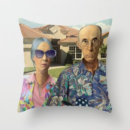 Florida Invasives Throw Pillow