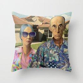 Florida Invasives Throw Pillow