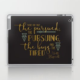 The Pursued & The Pursuing Laptop & iPad Skin