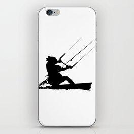 Wakeboarder Water Sport Silhouette iPhone Skin