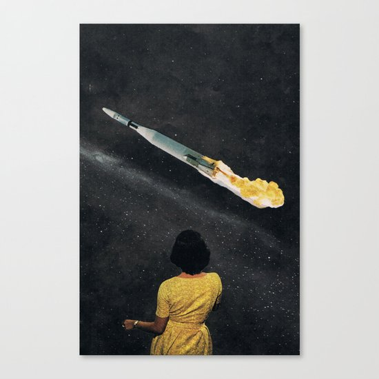 SPACE OUT... (2) Canvas Print
