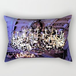Chandelier in the Locked Room Rectangular Pillow