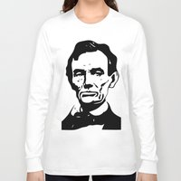 lincoln Long Sleeve T-shirts featuring LINCOLN $ by b & c