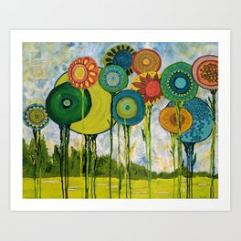 I Laughed With Joy Art Print