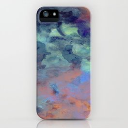 Van GoGo Blue iPhone Case