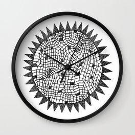 Sun or Star Wall Clock