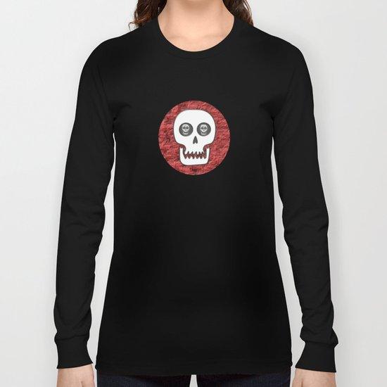 Skull Poppy Long Sleeve T-shirt