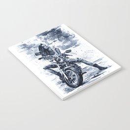 Biker Girl Notebook