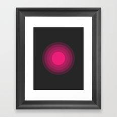THE MISSING SCARF - Sun 2 Framed Art Print