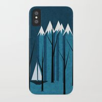 sailing iPhone & iPod Cases featuring Sailing by Imagonarium
