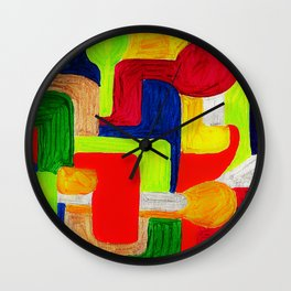Multi Maze Wall Clock