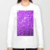 glitter Long Sleeve T-shirts featuring Glitter by Brian Raggatt