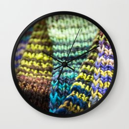 Stitch By Stitch Wall Clock