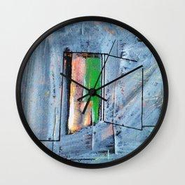 Puerta abierta Wall Clock