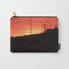 Sunset Railroad Carry-All Pouch