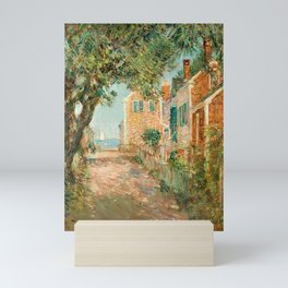 Classical Masterpiece 'Provincetown, Cape Cod' by Frederick Childe Hassam Mini Art Print