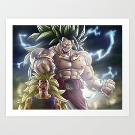 Legendary Warrior Art Print