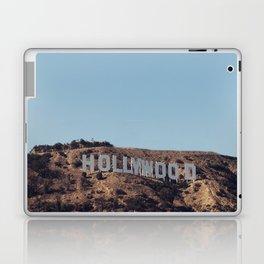 Vintage Retro Hollywood Sign Los Angeles California Colored Wall Art Print Laptop & iPad Skin
