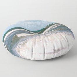 Ocean Waves Floor Pillow