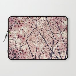 Blizzard of Blossoms Laptop Sleeve