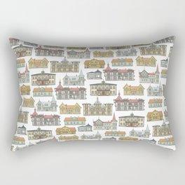 Wooden houses of Hjo Rectangular Pillow