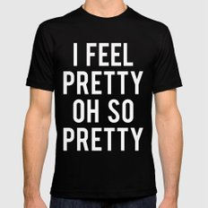 Oh, So Pretty! Black Mens Fitted Tee MEDIUM