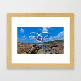 Reef Hopper Framed Art Print