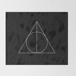 Geometry 02 Throw Blanket