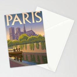Vintage poster - Paris Stationery Cards