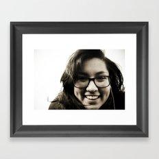 Young Framed Art Print