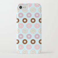 doughnut iPhone & iPod Cases featuring Doughnut Polka by Karolis Butenas