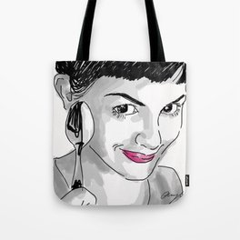 Amelie and Spoon. Tote Bag
