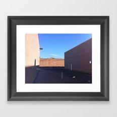 Color Alley Framed Art Print