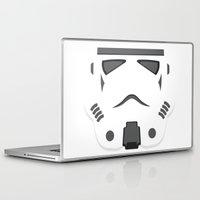 storm trooper Laptop & iPad Skins featuring Storm Trooper - Starwars by Alex Patterson AKA frigopie76