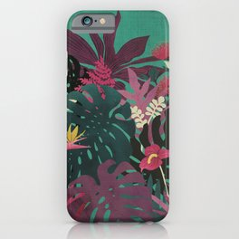 Tropical Tendencies iPhone Case