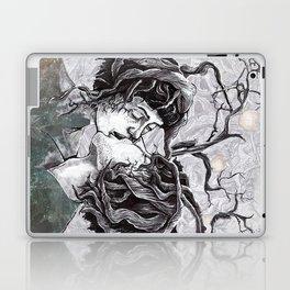 Bird Sings in The Apple Tree Laptop & iPad Skin
