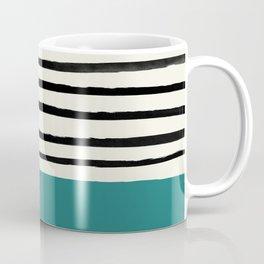 Teal x Stripes Coffee Mug