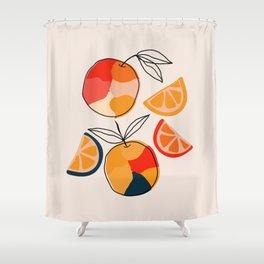Juicy Citrus Shower Curtain