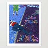 Japandroids Poster Art Print