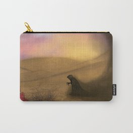Lonely demon in the desert Carry-All Pouch