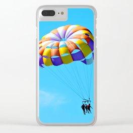 Parasailing Captiva Island Clear iPhone Case